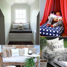 10 Crib Mattress Makeovers You Have to See to Believe: Once your kiddos have transitioned into full-size beds, and your family's baby days are officially over, every mom faces the question of what to do with their very first sleep space, the miniature mattress. Here are 10 clever ways to give your crib mattress a new life — from a dog bed to a reading nook, and beyond!