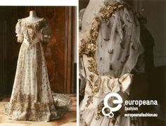 Hungarian court dress, c. 1830, Wien Museum.