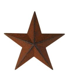 Look at this #zulilyfind! Copper 6\'\' Star Wall Art - Set of Four ...
