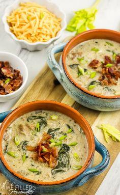Instant Pot Chicken Chowder - Awe Filled Homemaker