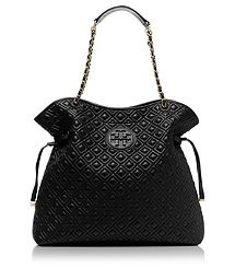 #Tory Burch..MARION QUILTED SLOUCHY TOTE..think this is my favorite TB bag ever! I think I need this one :)