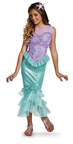 Disguise Ariel Tween Disney Princess The Little Mermaid Costume Large1012 *** Continue to the product at the image link-affiliate link.
