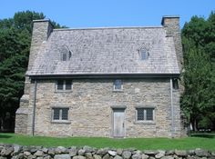 Henry Whitfield House (1639) oldest house in Connecticut and the oldest stone house in New England Guilford