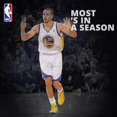 @NBA: We have a new single season Three Point King!
