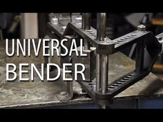 Manual Metal Benders - YouTube