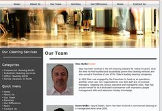 Stan has been involved in the WA cleaning industry for nearly 30 years. Dawn has been involved in commercial cleaning at a management level since Cleaning Services, 30 Years, Perth, Commercial, Housekeeping, Maid Services