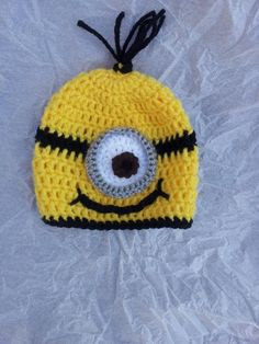 Awesome Minion Hat project on Craftsy.com