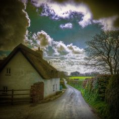 Ancient Lane, Cornwall, England