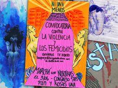 Convocatoria #NiUnaMenos. Te invitamos a que mandes tus dibujos, pinturas, caricaturas, para fortalecer la campaña contra la violencia hacia las mujeres y contra los femicidios. Este 3 de junio a las 17:00 hs. gritemos bien fuerte que si ¡tocan a una, nos organizamos miles! > http://www.laizquierdadiario.com/NiUnaMenos-16145 #LaCajaRoja #Mujer #Feminicidios #Arte