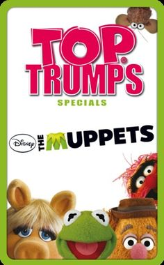 Top Trumps - The Muppets #toptrumps #muppets