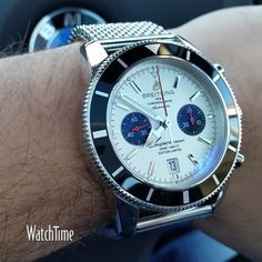 A #WatchTime fan is checking in with his #Breitling Superocean Heritage Chronograph Limited Edition. Congratulations! #breitlingwatches @breitlingnews #watchporn #watchaddiction #watchgeek #wristporn...
