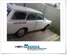 1968 VW Variant classic car