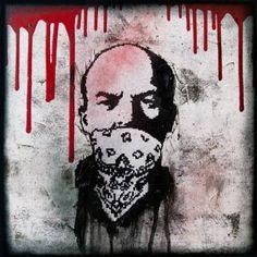 "Saatchi Art Artist Zsolt Gyarmati; Painting, ""Phonatacid Lenin II."" #art"
