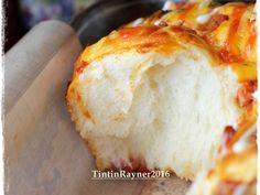 PIZZA ROLL Super Empuk ala Killer Bread Recomended recipe step 11 photo Pizza Rolls, Recipe Steps, Cheddar, Mashed Potatoes, Bakery, Bread, Cheese, Cooking, Ethnic Recipes