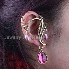 flowers Cuff earring,ear cuff chain Decorations earrings gold ear cuff ear cuff jewelry