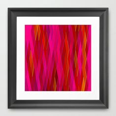 Re-Created Vertices No. 26 #Framed #Art #Print by #Robert #S. #Lee - $35.00