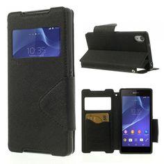 Plånboksfodral till Z2. Hitta fler fodral via: http://www.phonelife.se/mobilfodral