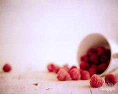 Fruit Photography, Burgundy, Cerise, Raspberries Photograph, Still Life Food Photography, Modern Art, Wall Decor, Kitchen Decor - Red on Etsy, 23,22€