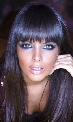 Blue Black Hair is gorgeous this year!