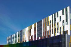 New Children's Hospital Helsinki 2018. Ceramic facades.