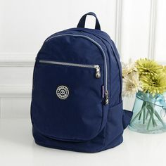 Lovely Waterproof Floral Color Design Fashion Sturdy High-Quality Backpack 16 Designs/Colors