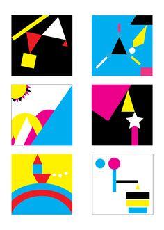 Opdracht 8C: Kleur tegen kleur contrast