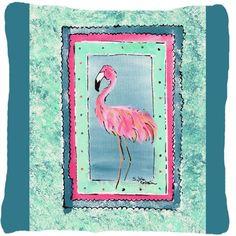 Flamingo Indoor/Outdoor Throw Pillow