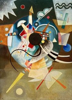 """Wassily Kandinsky - """"A Center"""", 1924 … Be Sure To Visit: http://universalthroughput.imobileappsys.com/"""