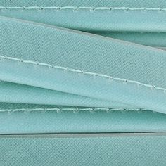 Piping doubled PVC 10 mm Light Turquoise x1m