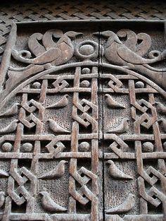 old door. Yerevan, Armenia