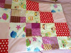Sew baby blanket