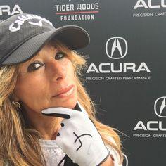 Fatiha @Tourmiss - Genius of Golf at #tigerwood #foundation golf event wearing #danyfaygolfcouture #meshgloves.  #tourmiss #FatihaBetscher #Fatiha #geniusofgolf #golfer #danyfay #golfcouture #golfetiquette #golflady #golfforher #ambassador #PGA #tournament #golf #event