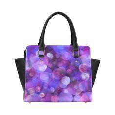 #Bubbles007 Classic Shoulder #Handbag (Model 1652) #JAMColors #ArtsAdd