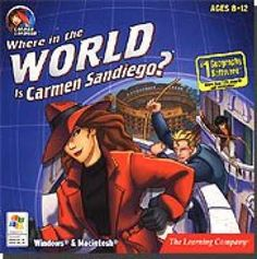Where in the World is Carmen Sandiego? computer game