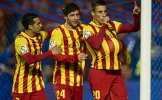 Com três de Tello, Barcelona goleia Levante e fica perto das semifinais - Futebol - iG. Manuel Queimadelos Alonso/Getty Images