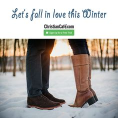 Let's fall in love this Winter Christian Singles, Single Dating, Falling In Love, Fall Winter, Let It Be