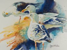 Denise Joy McFadden WATERCOLOR