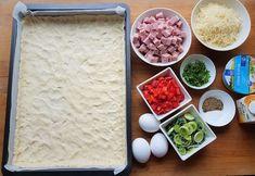 Gluteeniton kinkku-juustopiirakka | Himoleipuri Quiche Lorraine, 200 Calories, Coconut Flakes, Grains, Spices, Food And Drink, Gluten Free, Baking, Glutenfree