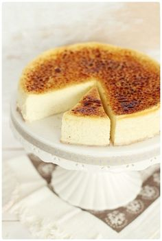 crème brûlée cheesecake - Next time you're in town @Jenna Ross