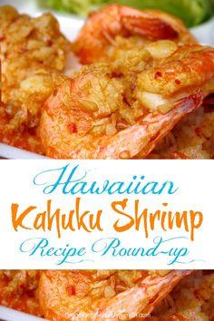 Shrimp Appetizers, Shrimp Dishes, Shrimp Recipes, Fish Recipes, Asian Recipes, Hawaii Food Recipes, Ono Kine Recipes, Fish Dishes, Bon Appetit