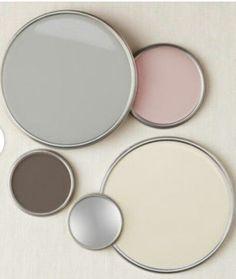 Colour scheme - cream, pink, grey and brown - #brown #colour #cream #scheme - #Genel