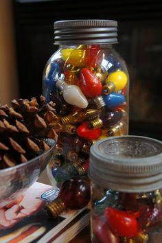 LuckyPatina: Mason Jars and Holiday Decor.