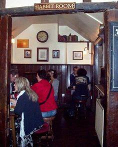 Inside The Eagle and Child pub, Oxford. Home Pub, Tolkien, Breathe, Rabbit, Oxford, Eagle, Middle, Child, Bar