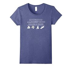 Women's Motherhood Is Scariest Hood You'll Go Through Funny Heather Blue T-Shirt. This hilarious comical shirt for mom will have others laughing at the truth about the challenges of parenthood. This humor tee is perfect for your mother, wife, friend or yourself this holiday.  https://www.amazon.com/dp/B071CXRMHQ/ref=cm_sw_r_pi_dp_x_-wS-yb7EH8PSA