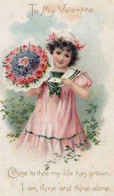 Valentine Images, Vintage Valentine Cards, Vintage Greeting Cards, Vintage Ephemera, Vintage Holiday, Vintage Postcards, Holiday Postcards, Funny Valentine, Valentines Greetings