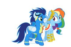 Rainbow Dash and Soarin after the Gala by GizemYorganci.deviantart.com on @deviantART