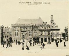 Haarlem, stadhuis in 1899