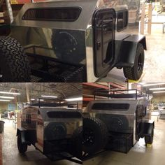 door and Windows installed on the All Over Rover