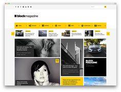 Block Magazine template