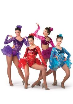 Dance Costumes made in the USA. Cute Dance Costumes, Tap Costumes, Ballet Costumes, Girl Costumes, Costume Ideas, Dance Photos, Dance Pictures, Hip Hop Dance Outfits, Dance Recital